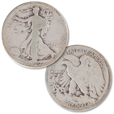 Image for 1920 Liberty Walking Silver Half Dollar from Littleton Coin Company