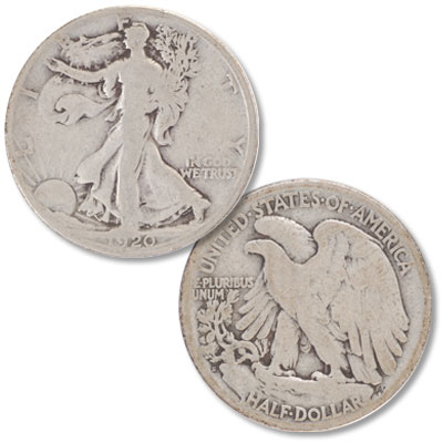 Image for 1920-S Liberty Walking Silver Half Dollar from Littleton Coin Company