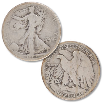 Image for 1923-S Liberty Walking Silver Half Dollar from Littleton Coin Company