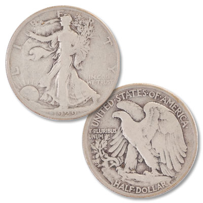 Image for 1929-D Liberty Walking Silver Half Dollar from Littleton Coin Company