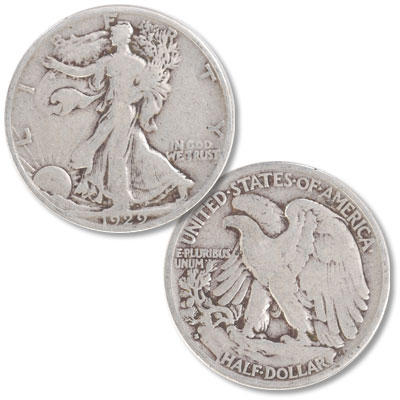 Image for 1929-S Liberty Walking Half Dollar from Littleton Coin Company