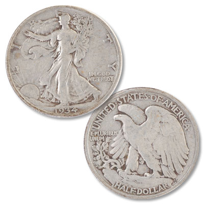 Image for 1934 Liberty Walking Silver Half Dollar from Littleton Coin Company