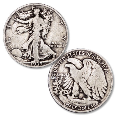 Image for 1935 Liberty Walking Half Dollar from Littleton Coin Company