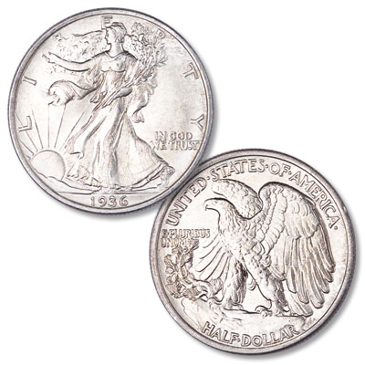 Image for 1936 Liberty Walking Silver Half Dollar from Littleton Coin Company