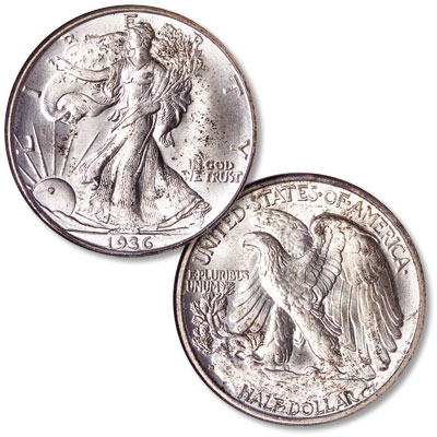 Image for 1936-D Liberty Walking Silver Half Dollar from Littleton Coin Company