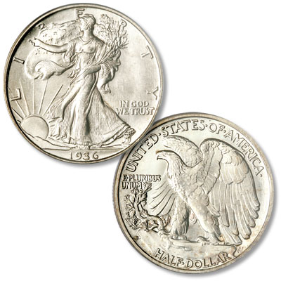 Image for 1936-S Liberty Walking Silver Half Dollar from Littleton Coin Company