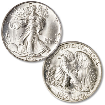 Image for 1937-D Liberty Walking Half Dollar from Littleton Coin Company