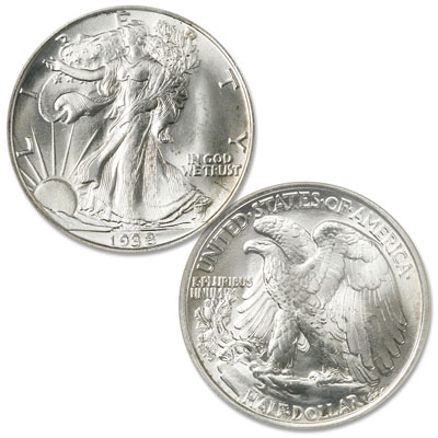 Image for 1938 Liberty Walking Silver Half Dollar from Littleton Coin Company