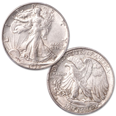 Image for 1938-D Liberty Walking Silver Half Dollar from Littleton Coin Company