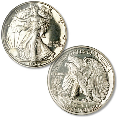 Image for 1939 Liberty Walking Half Dollar from Littleton Coin Company