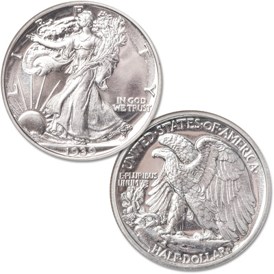Image for 1939 Liberty Walking Silver Half Dollar from Littleton Coin Company