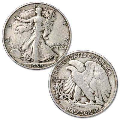 Image for 1939-D Liberty Walking Silver Half Dollar from Littleton Coin Company