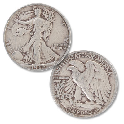 Image for 1939-S Liberty Walking Silver Half Dollar from Littleton Coin Company