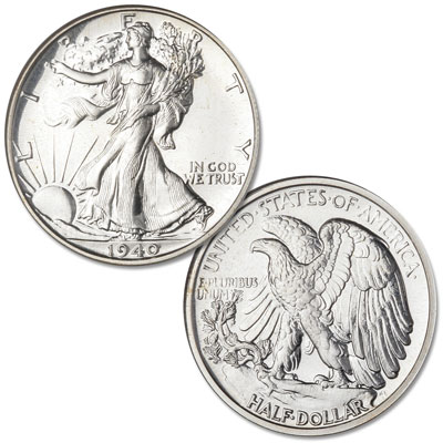 Image for 1940 Liberty Walking Silver Half Dollar from Littleton Coin Company