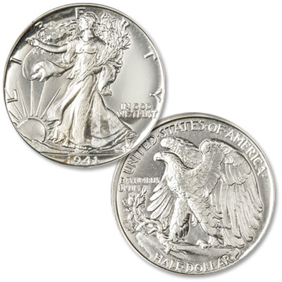 Image for 1941 Liberty Walking Silver Half Dollar from Littleton Coin Company