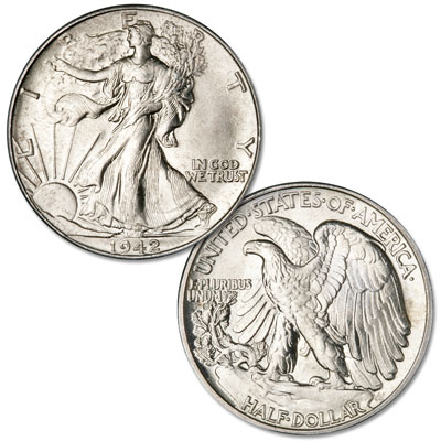 Image for 1942 Liberty Walking Silver Half Dollar from Littleton Coin Company