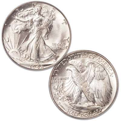 Image for 1942-D Liberty Walking Silver Half Dollar from Littleton Coin Company