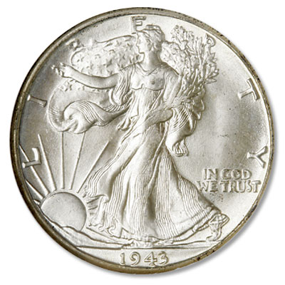 Image for 1943-D Liberty Walking Half Dollar from Littleton Coin Company