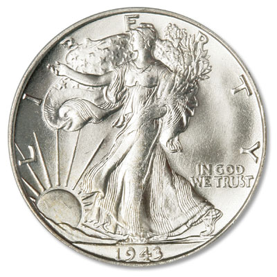 Image for 1943-S Liberty Walking Half Dollar from Littleton Coin Company