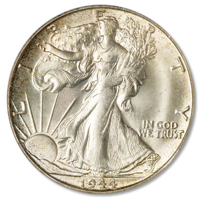 Image for 1944-S Liberty Walking Silver Half Dollar from Littleton Coin Company
