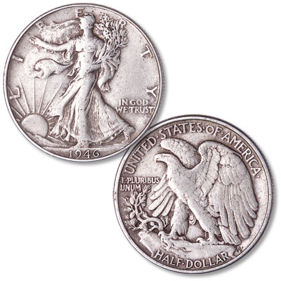 Image for 1946 Liberty Walking Silver Half Dollar from Littleton Coin Company
