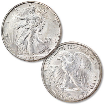 Image for 1946-D Liberty Walking Silver Half Dollar from Littleton Coin Company