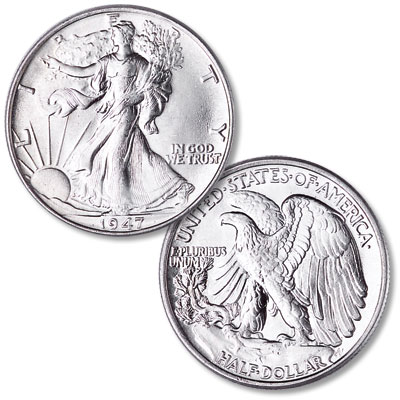 Image for 1947 Liberty Walking Half Dollar from Littleton Coin Company