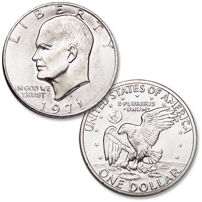 Image for 1971-D Eisenhower Dollar, Copper-Nickel Clad from Littleton Coin Company