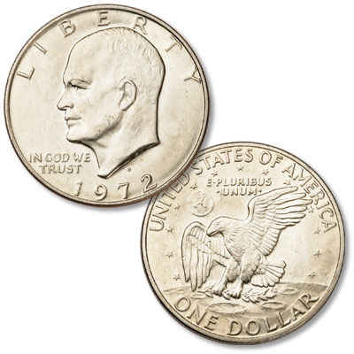 Image for 1972-D Eisenhower Dollar, Copper-Nickel Clad from Littleton Coin Company