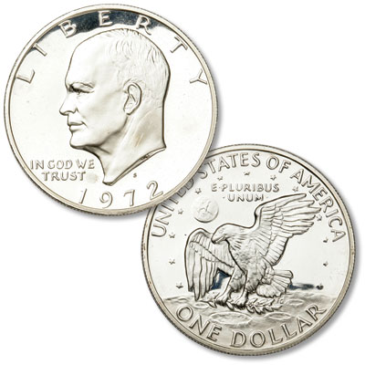 Image for 1972-S Eisenhower Dollar, Silver Clad, Proof from Littleton Coin Company