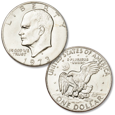 Image for 1973-D Eisenhower Dollar, Copper-Nickel Clad from Littleton Coin Company