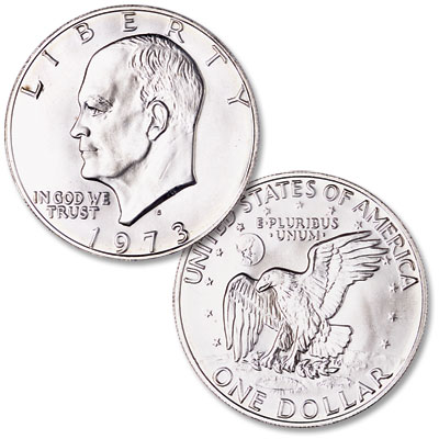 Image for 1973-S Eisenhower Dollar, Silver Clad from Littleton Coin Company