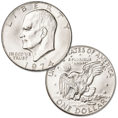 Image for 1974-D Eisenhower Dollar, Copper-Nickel Clad from Littleton Coin Company