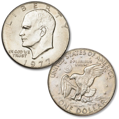 Image for 1977-D Eisenhower Dollar, Copper-Nickel Clad from Littleton Coin Company