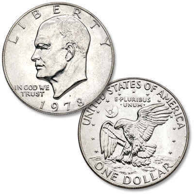 Image for 1978-D Eisenhower Dollar, Copper-Nickel Clad from Littleton Coin Company