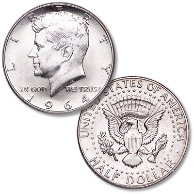 Image for 1964 90% Silver Kennedy Half Dollar from Littleton Coin Company