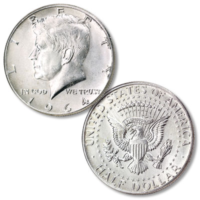 Image for 1964-D Kennedy Half Dollar from Littleton Coin Company