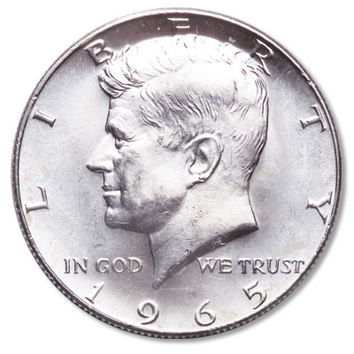 Image for 1965 Kennedy Half Dollar from Littleton Coin Company