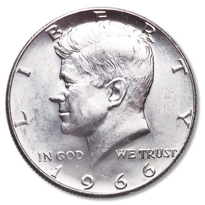 Image for 1966 Kennedy Half Dollar from Littleton Coin Company