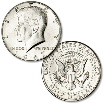 Image for 1967 Kennedy Half Dollar from Littleton Coin Company