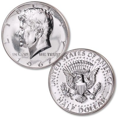 Image for 1967 Kennedy Half Dollar, From Special Mint Set from Littleton Coin Company