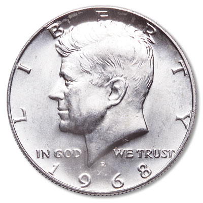 Image for 1968-D Kennedy Half Dollar from Littleton Coin Company