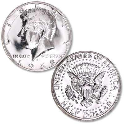 Image for 1968-S Kennedy Half Dollar from Littleton Coin Company