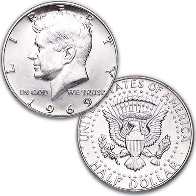 Image for 1969-D Kennedy Half Dollar from Littleton Coin Company