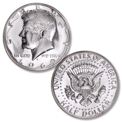 Image for 1969-S Kennedy Half Dollar from Littleton Coin Company