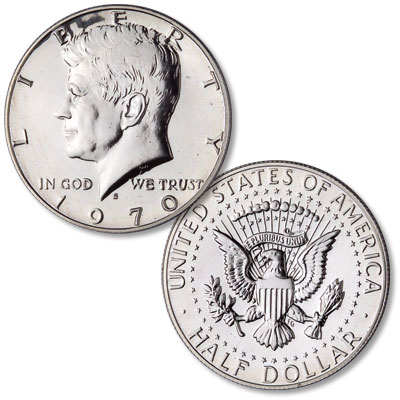 Image for 1970-S Kennedy Half Dollar from Littleton Coin Company