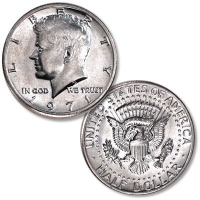 Image for 1971 Kennedy Half Dollar from Littleton Coin Company