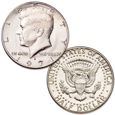 Image for 1971-D Kennedy Half Dollar from Littleton Coin Company