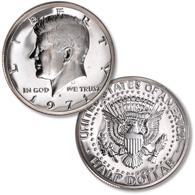 Image for 1971-S Kennedy Half Dollar from Littleton Coin Company