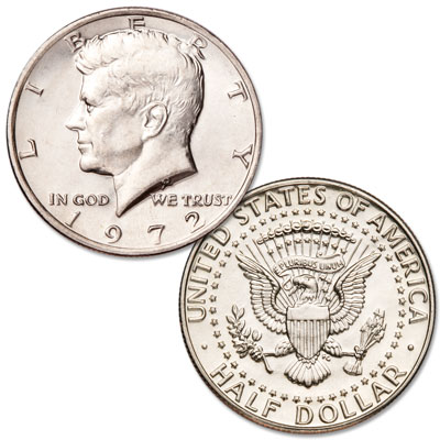 Image for 1972 Kennedy Half Dollar from Littleton Coin Company